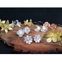 Silver Flower range Earings