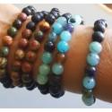 Lava Beads Bracelets