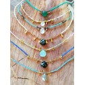 Beaded Droplet Necklaces