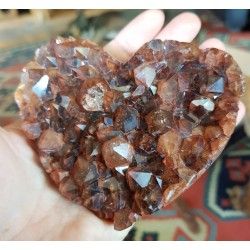 Mozambican Rule Quartz Heart