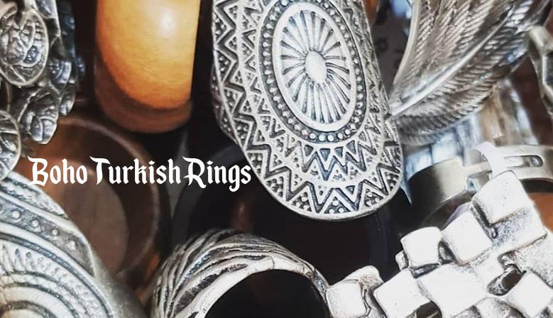 Boho Turkish Rings